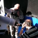 Gäste bei der Beobachtung des Venus-Transits 2004