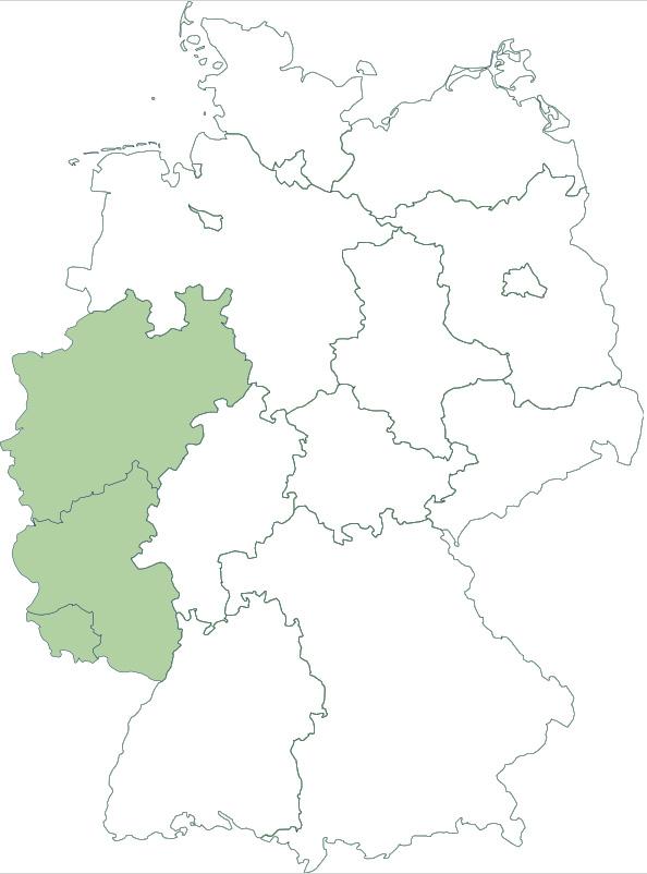Vorschlag der Region West