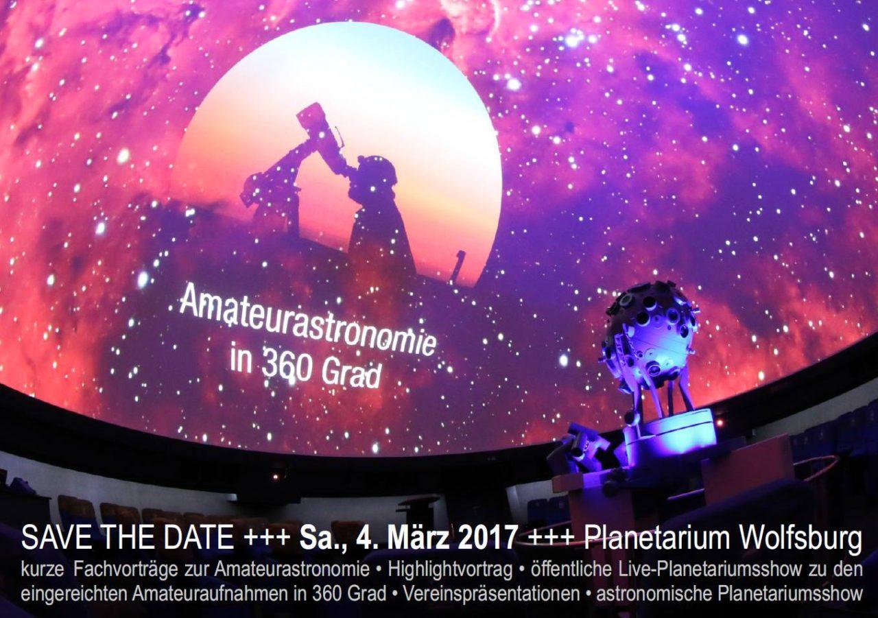 Ankündigung des Sternfreundetreffens in Wolfsburg am 4. März 2017