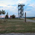 """Auf dem Gipfel des """"Hohen Berges"""" bei Syke"""