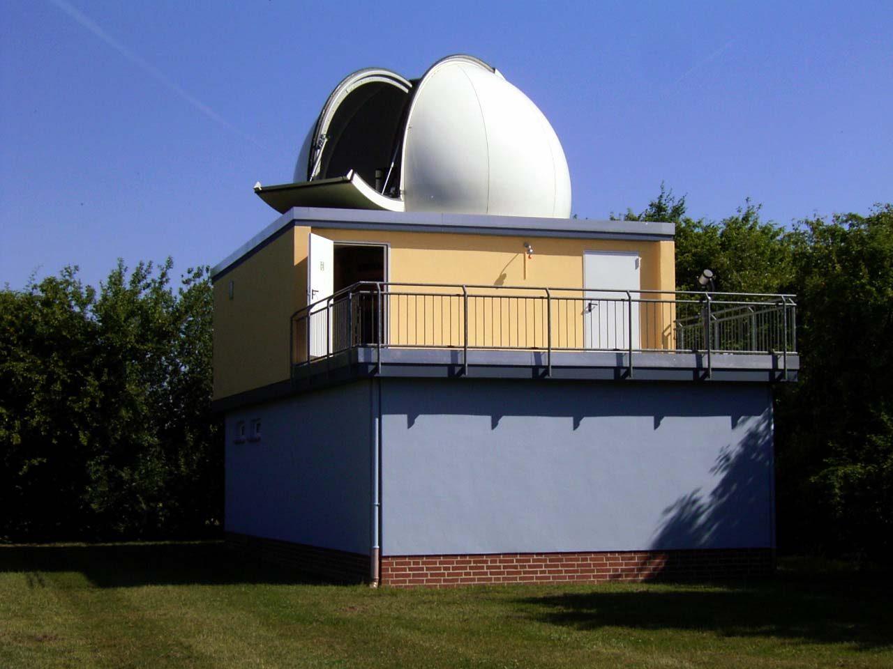 """Die """"Sternwarte Braunschweig-Hondelage"""" erwartet ihre Gäste: Foto Michael Schomann"""